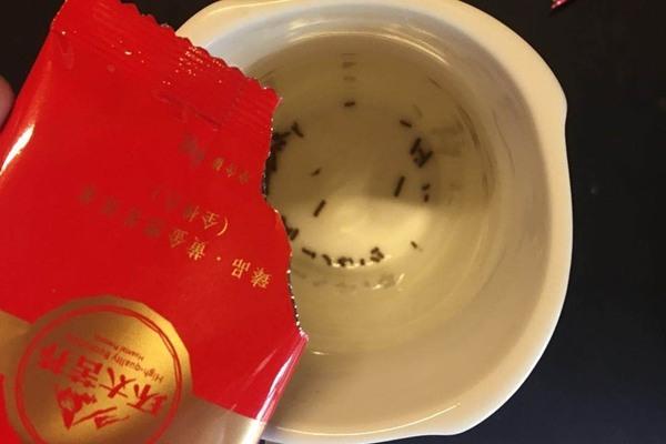 黑beplay官网下载全株茶180克消费者试用报告