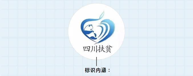四川扶贫商标标识